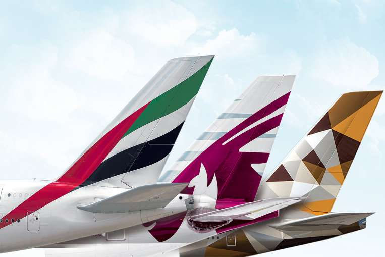 Middle East's three dominant airlines - Emirates, Qatar Airways and Etihad - are collectively known as Gulf Carriers