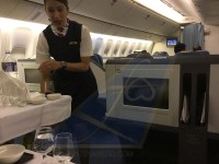 Service was definitely better at Philippine Airlines Business Class from Manila to San Francisco onboard Boeing 777